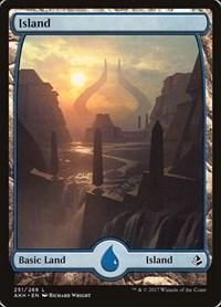 Island (251) - Full Art, Magic: The Gathering, Amonkhet