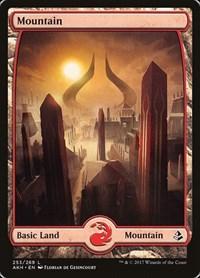 Mountain (253) - Full Art, Magic: The Gathering, Amonkhet