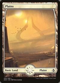 Plains (250) - Full Art, Magic: The Gathering, Amonkhet