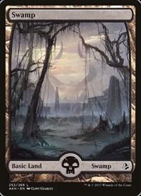 Swamp (252) - Full Art, Magic: The Gathering, Amonkhet
