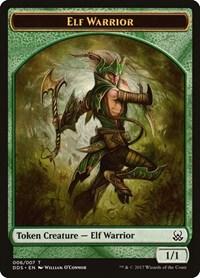 Elf Warrior Token, Magic: The Gathering, Duel Decks: Mind vs. Might