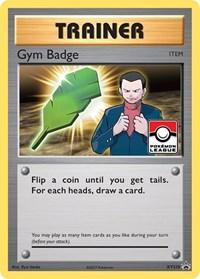 Gym Badge (Giovanni), Pokemon, XY Promos