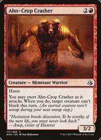 Ahn-Crop Crasher, Magic: The Gathering, Amonkhet