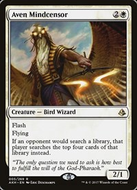 Aven Mindcensor, Magic: The Gathering, Amonkhet
