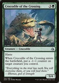 Crocodile of the Crossing, Magic: The Gathering, Amonkhet