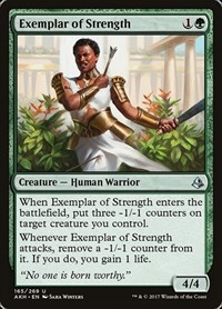Exemplar of Strength, Magic: The Gathering, Amonkhet