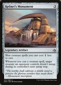 Kefnet's Monument, Magic, Amonkhet