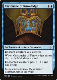 Cartouche of Knowledge, Magic, Amonkhet
