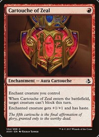 Cartouche of Zeal, Magic: The Gathering, Amonkhet