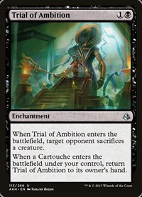 Trial of Ambition, Magic, Amonkhet