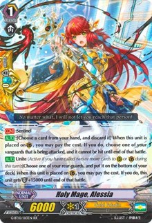Holy Mage, Alessia, Cardfight Vanguard, Raging Clash of the Blade Fangs