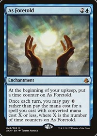 As Foretold, Magic: The Gathering, Amonkhet