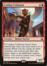 Combat Celebrant, Magic: The Gathering, Amonkhet