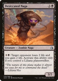 Desiccated Naga, Magic: The Gathering, Amonkhet