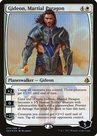 Gideon, Martial Paragon, Magic: The Gathering, Amonkhet