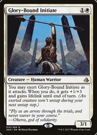 Glory-Bound Initiate, Magic, Amonkhet