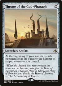 Throne of the God-Pharaoh, Magic: The Gathering, Amonkhet