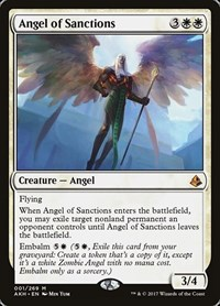 Angel of Sanctions, Magic, Amonkhet