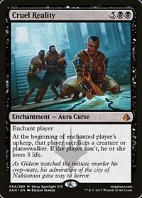 Cruel Reality, Magic: The Gathering, Amonkhet