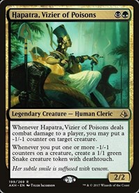 Hapatra, Vizier of Poisons, Magic: The Gathering, Amonkhet