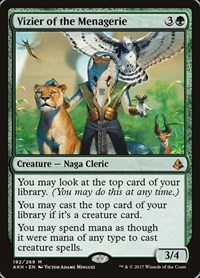 Vizier of the Menagerie, Magic: The Gathering, Amonkhet