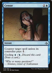 Censor, Magic: The Gathering, Amonkhet