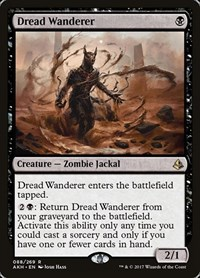 Dread Wanderer, Magic: The Gathering, Amonkhet