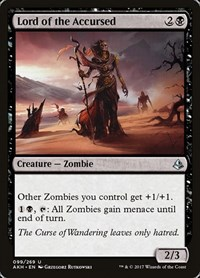 Lord of the Accursed, Magic: The Gathering, Amonkhet