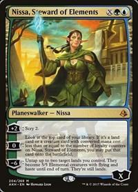 Nissa, Steward of Elements, Magic: The Gathering, Amonkhet