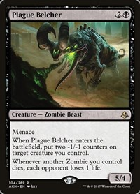 Plague Belcher, Magic: The Gathering, Amonkhet