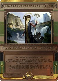 Rhonas the Indomitable, Magic: The Gathering, Masterpiece Series: Amonkhet Invocations