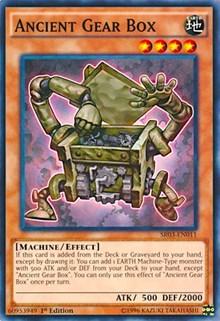 Ancient Gear Box, YuGiOh, Structure Deck: Machine Reactor