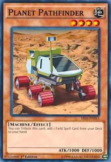 Planet Pathfinder, YuGiOh, Structure Deck: Machine Reactor