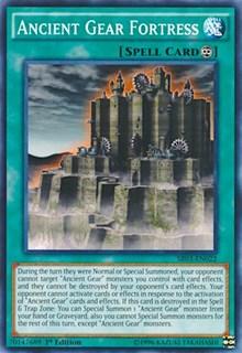 Ancient Gear Fortress, YuGiOh, Structure Deck: Machine Reactor