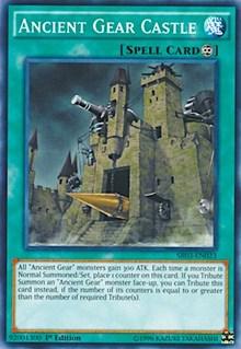 Ancient Gear Castle, YuGiOh, Structure Deck: Machine Reactor