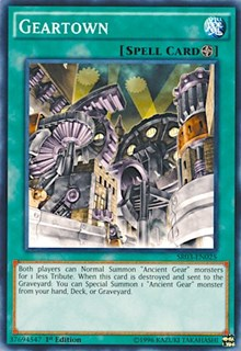 Geartown, YuGiOh, Structure Deck: Machine Reactor
