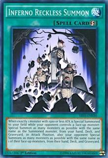 Inferno Reckless Summon, YuGiOh, Structure Deck: Machine Reactor