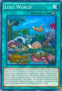 Lost World, YuGiOh, Structure Deck: Dinosmasher's Fury