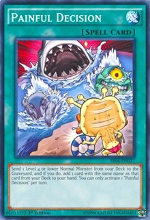 Painful Decision, YuGiOh, Structure Deck: Dinosmasher's Fury