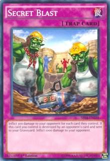 Secret Blast, YuGiOh, Structure Deck: Dinosmasher's Fury