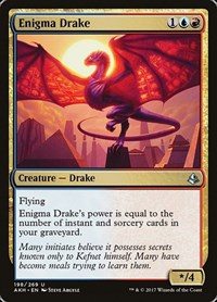 Enigma Drake, Magic: The Gathering, Amonkhet