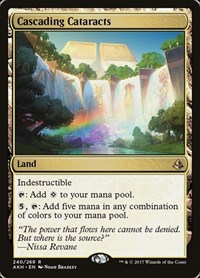 Cascading Cataracts, Magic: The Gathering, Amonkhet