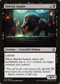 Baleful Ammit, Magic, Amonkhet