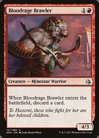 Bloodrage Brawler, Magic: The Gathering, Amonkhet