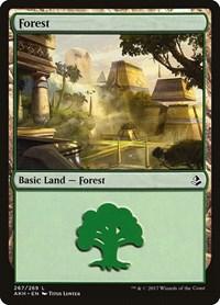 Forest (267), Magic: The Gathering, Amonkhet
