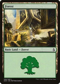 Forest (268), Magic: The Gathering, Amonkhet
