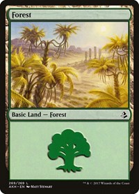 Forest (269), Magic: The Gathering, Amonkhet