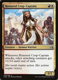 Honored Crop-Captain, Magic: The Gathering, Amonkhet