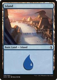 Island (258), Magic: The Gathering, Amonkhet