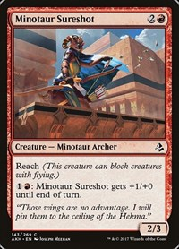 Minotaur Sureshot, Magic: The Gathering, Amonkhet